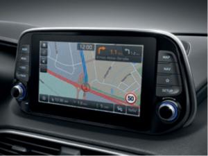 Ansicht Navigationssystem