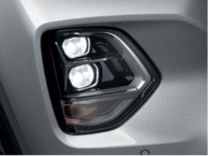 Details LED Scheinwerfer Santa Fe