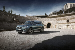 Seat Tarraco in alter Stierkampfarena