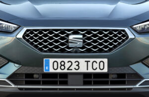 Detailansicht Frontgrill SEAT Tarraco