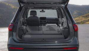 SEAT Tarraco Kofferraum mit umgeklappen Sitzreihen