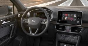 SEAT Tarraco Cockpit Blick des Fahrers