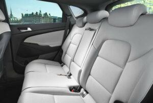 Ansicht Rücksitz Hyundai Tucson