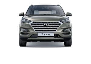 Frontansicht kompakt SUV Hyundai Tucson
