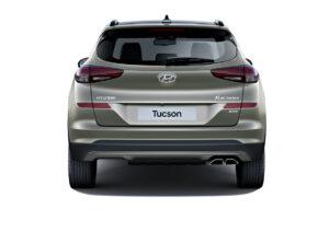 Aussenansicht Heck Hyundai Tucson