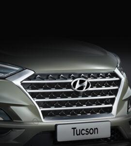 Tucson Kaskaden Kühlergrill von Hyundai