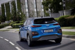 Hyundai Kona hybrid Heckansicht