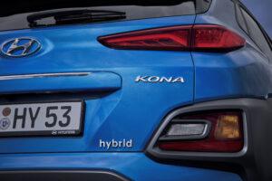 Hyundai Kona hybrid Nahaufnahme Heck
