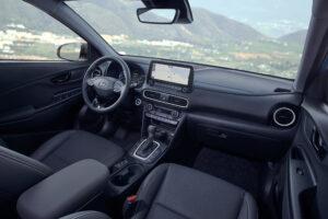 Ansicht Interior neuer Kona hybrid Beifahrersicht
