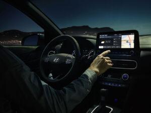 Hyundai Kona hybrid Touch-Screen