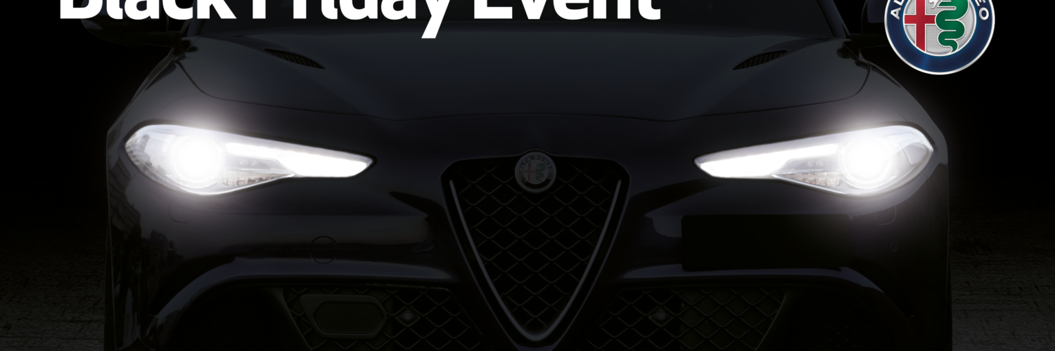 Black Friday Event mit Alfa Romeo