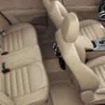 Alfa Romeo Stelvio MY20 Ansicht Rücksitze in Beige