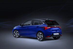 Hyundai i20 all new Ansicht seitlich hinten