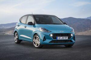 Ansicht all new Hyundai i10 Front vorne links