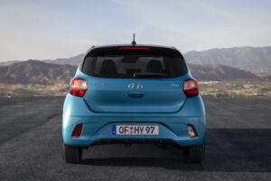 Heckansicht all new Hyundai i10