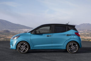 Ansichter Fahrerseite all new Hyundai i10