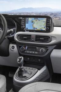 Detailansicht Mittelkonsole Hyundai i10