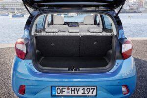 Ansicht offener Kofferraum all new Hyundai i10