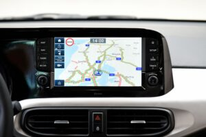 Detailansicht Navi System all new Hyundai i10
