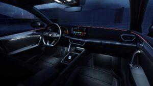 Ansicht Cockpit des neuen SEAT Leon