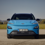 Hyundai New KONA electric Frontansicht Auto Windlin