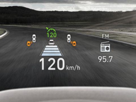 New Hyundai Santa Fe Auto Windlin Head Up Display