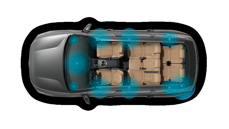 New Hyundai Santa Fe Auto Windlin KRELL Soundsystem
