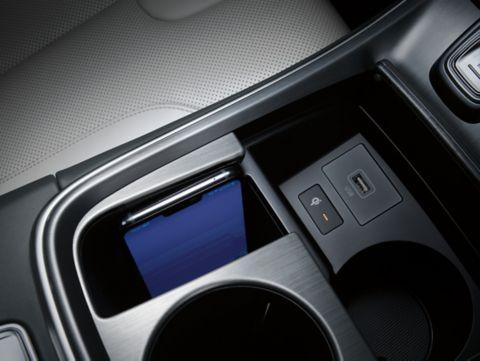New Hyundai Santa Fe Auto Windlin drahtlose Ladestation