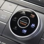 New Hyundai Santa Fe Detailansicht Steuerungsmodul Cockpit Auto Windlin