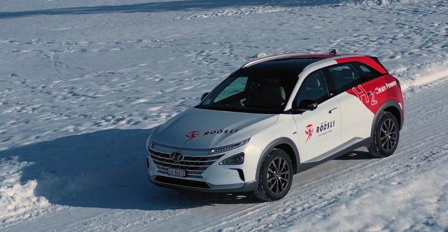 Hyundai NEXO: Wasser statt CO2
