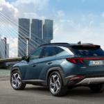 Heck- und Seitenansicht des all new Hyundai Tucscon Auto Windlin Gruppe