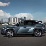 Ansicht Fahrerseite des all new Hyundai Tucson Auto Windlin Gruppe