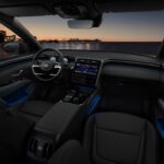 Ansicht Interieur all New Hyundai Tucson bei Nacht Auto Windlin Gruppe