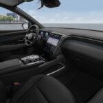 All new Hyundai Tucson Beifahrer-Seitenansicht Cockpit Auto Windlin Gruppe