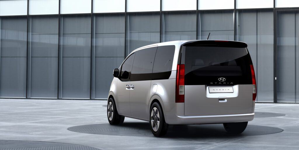 Heckansicht Hyundai STARIA MPV 2021 Auto Windlin Kriens Kerns